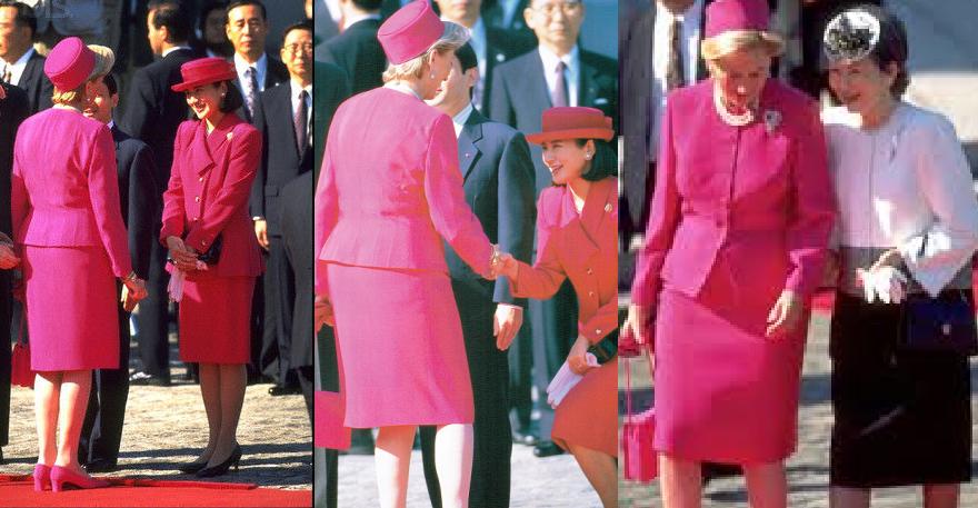 「でれでれ草 雅子 ベルギー王妃 衣装被り」の画像検索結果