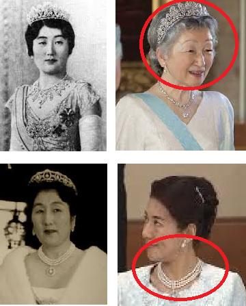 「秩父宮 ネックレス ティアラ 雅子」の画像検索結果