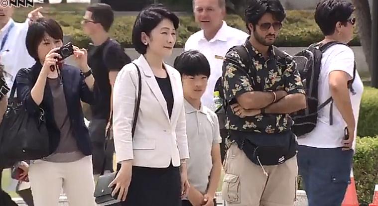 「悠仁様 運動会 でれでれ草 広島」の画像検索結果
