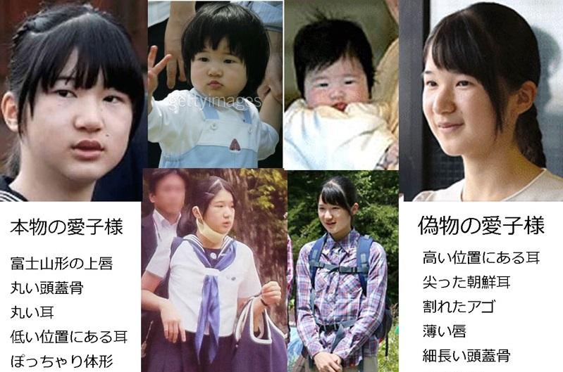 「愛子様 偽物 北朝鮮 でれでれ草」の画像検索結果