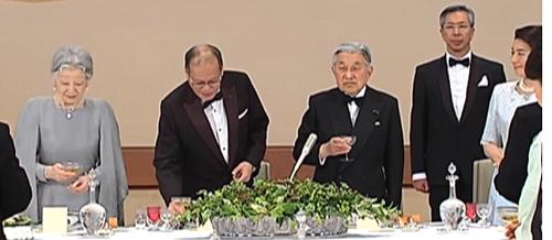 「フィリピン大統領 晩餐会 でれでれ草」の画像検索結果