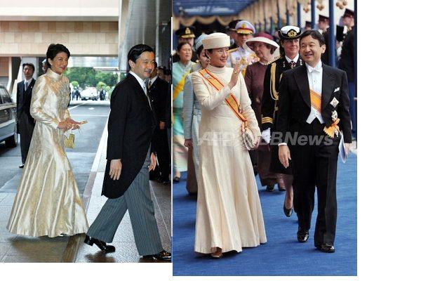 「オランダ王 戴冠式 雅子 ドレス 清子 でれでれ草」の画像検索結果