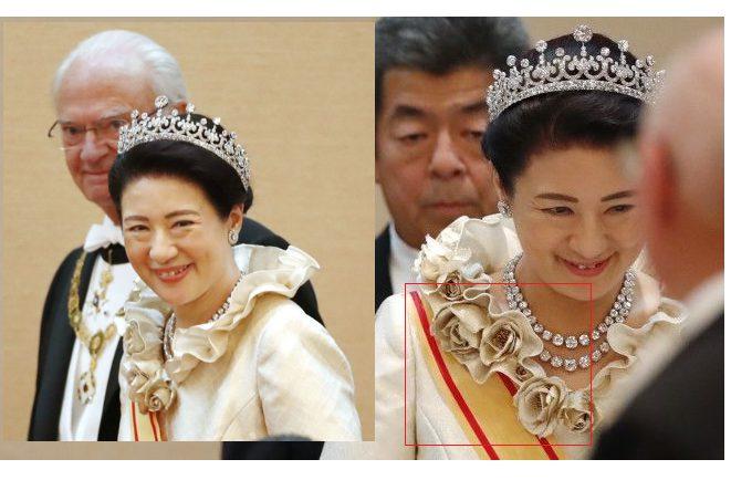 皇室外交2019⑨即位の礼、ドレス(下)