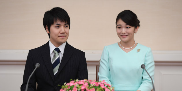 「眞子様 婚約会見 でれでれ草」の画像検索結果